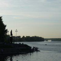 Нева, Усть-Ижора :: Ирина Л