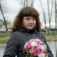 С букетом :: Elena Zhivoderova