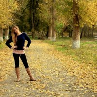 Осенняя пора...очей очарование :: Анастасия Горяинова