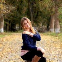 Мисс осень :: Анастасия Горяинова