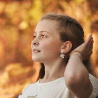 Вдох и выдох. Движенье руки. Только в детстве- событий замедлен бег. :: Ирина Данилова