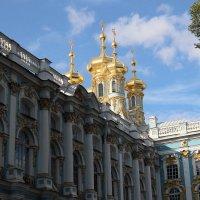 Церковь Екатериниского дворца :: Михаил Лесин