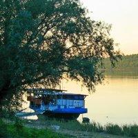 Старая пристань на Дунае :: Ростислав