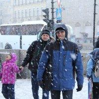 Такой радостный снег! :: Татьяна Копосова