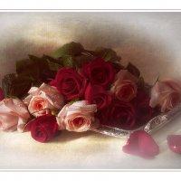 Розы в винтажном с тиле :: Светлана Л.