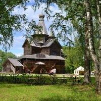 В музее деревянного зодчества Витославлицы (этюд 1) :: Константин Жирнов