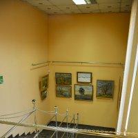 Лестница к искусству :: юрий Амосов