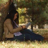 Под деревом :: Калгиза Осмонова