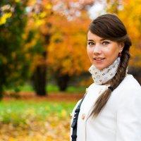 Яночка и осень :: Татьяна Силкина