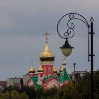 Вид на храм с центральнй набережной Курчатова :: Евгений Евдокимов