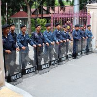 Бангкок. Полицейские :: Владимир Шибинский