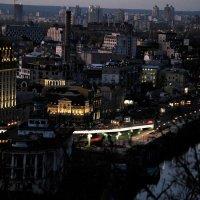 Родной и любимый вечерний Киев :: Татьяна Литовчик