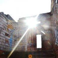 Солнце над разбитым лестничным пролётом :: Роман Fox Hound Унжакоff