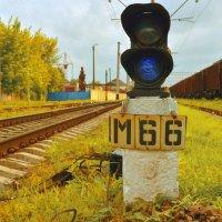 Дорога к вокзалу :: Владимир Семенюк