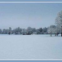 Деревенька, затерявшая в снегах :: Владимир ЯЩУК