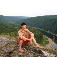 Урал. Река Чусовая. Гора Красный Камень :: Анна Анисимова (Мурашкина)