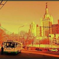 """Дом на Кудринской площади (Назывался """"Высотка на площади Восстания"""") :: Евгений Жиляев"""