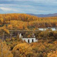 У старой ГЭС. :: Наталья Юрова