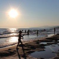 Чёрное море на закате. солнца. :: Наталья Юрова