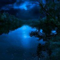 Ночной пейзаж :: Boris Belocerkovskij