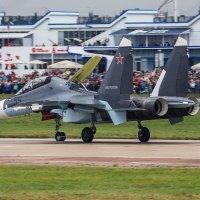 Су-30СМ после посадки :: Павел Myth Буканов