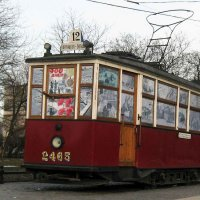 Памятник блокадному трамваю (07.04.2009) :: Владимир Варивода