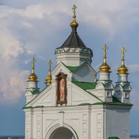 Н.Новгород. Мужской Печёрский монастырь. :: Максим Баранцев