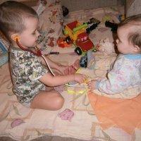 на приеме у детского доктора :: Валентина Широнина