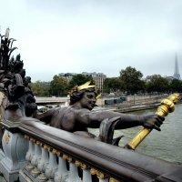 Париж. Мост Александра III. Фрагмент. :: Михаил Малец
