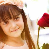 Девочка и роза :: Алескандр Номани