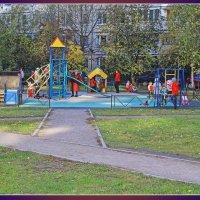 На детской площадке. :: Александр Лейкум
