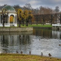 Осенний парк :: Vasiliy V. Rechevskiy