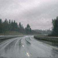 Дорога...дождь...туман... :: Irina Sergeeva
