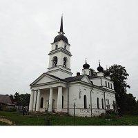 церковь деревенская. :: Ирина Шершнева