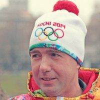 Алексей Урманов. Эстафета олимпийского огня. 27 окт. :: Тата Казакова