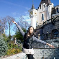 Прогулка с балериной :: Надежда Зайцева