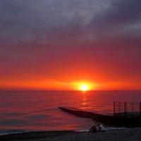 Раскрашу море в красный цвет :: Виолетта
