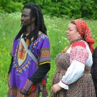 Фото 2. ...и их интернациональные зрители :: Константин Жирнов