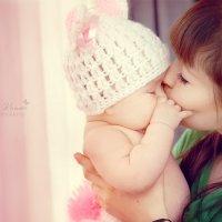 С мамочкой :: Мария Колина