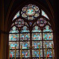 Notre Dame de Paris. Витраж :: Наталья ***