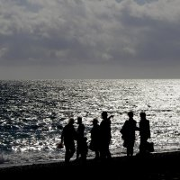 Холодное серебряное море :: Ирина Сивовол