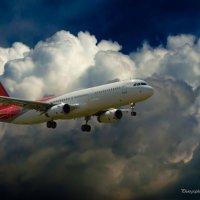 AirBus A320 -landing- :: Roman Voron