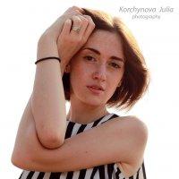 Портрет (пленер) :: Юлиана Коршунова