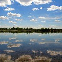Река ,август,полдень. :: Владимир Михайлович Дадочкин