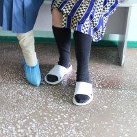 Одна нога здесь, другая там... :: Сергей Михайлов