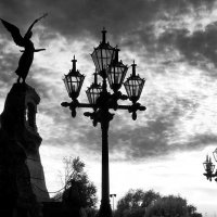 в контровом свете заката :: Pavel Stolyar