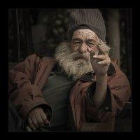 Мадрид. Бездомный :: Юрий Дрейзин