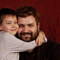 Папа с сыном :: Alexander Moshkin