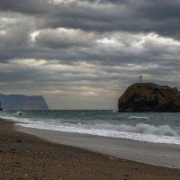 Яшмовый пляж. Пустынно :: Игорь Кузьмин