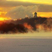 зимний закат в коломенском :: Александр Шурпаков